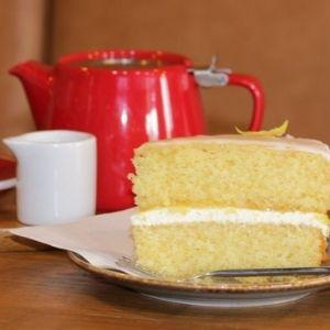 Coffee Squared coffee and cake